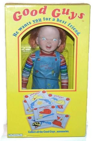 "Neca Play Toys Good Guys 12"" Talking Chucky Doll"