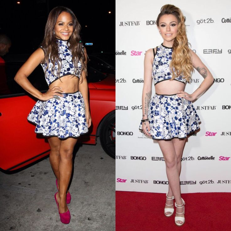 Christiana Milian Versus Cher Llyod : Who Wore It Better -