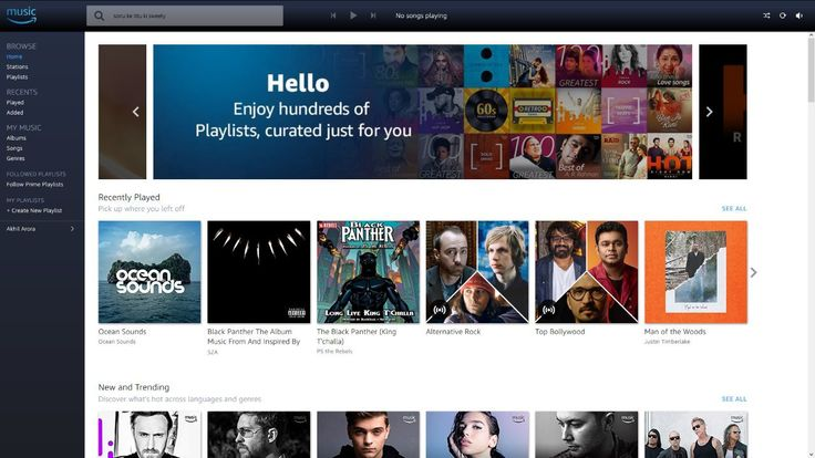 Amazon Music Launched in India Now Available for Android iOS and on the Web  Amazon has quietly given Amazon Music a full-scale launch in India its subscription-based music streaming service thats part of Amazon Prime membership. You can now access it via music.amazon.in or download the Amazon Music app on Android or iOS. Previously Amazon Music was restricted to the Amazon Echo smart speaker line-up.  At first start Amazon Music will ask you to select your music preferences by language…