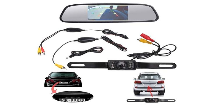 E-best Backup Camera and also Monitor
