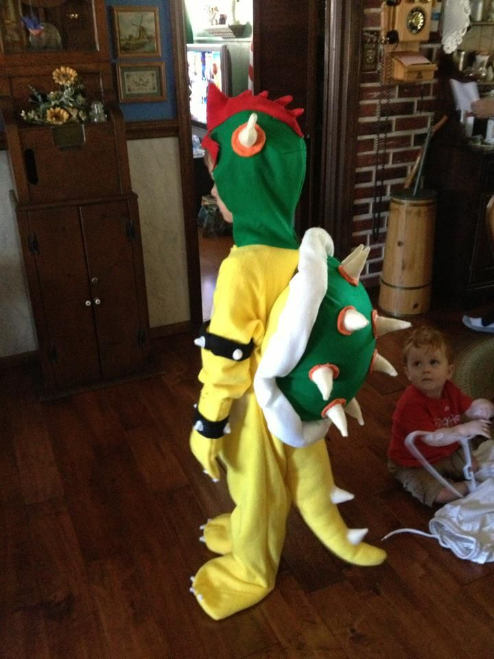 bowser Halloween costume