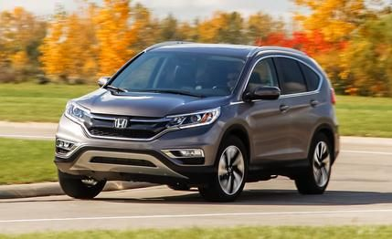 2015 Honda CR-V Touring AWD (black/ charcoal)