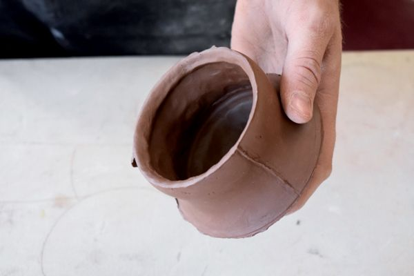 How to Use a Plaster Press Mold to Make a Cup | Ceramic-Processes
