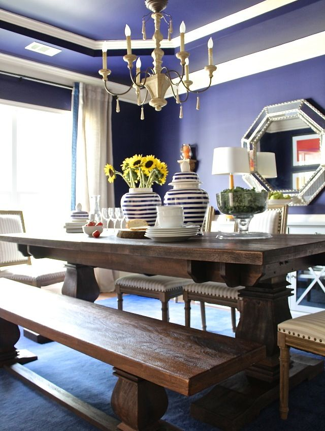 Dining Room Makeover with Home Depot and Home Decorators Collection
