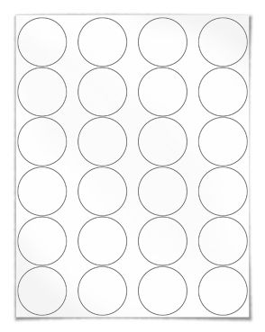 Free Blank Label Template Download Wl 325 Round Label