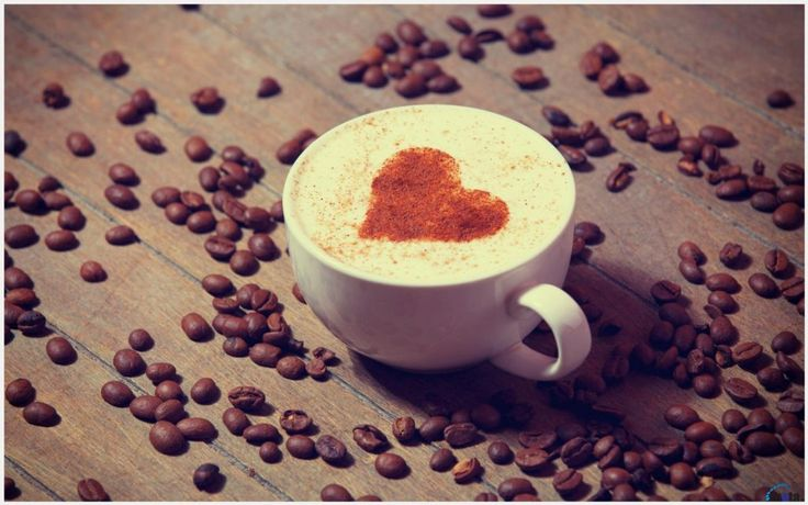Heart Coffee Wallpaper | heart coffee wallpaper