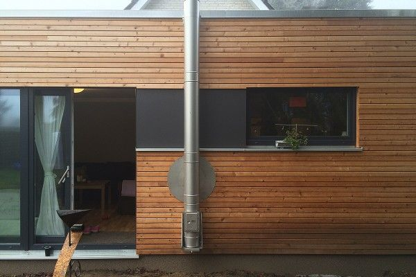 10 best kleiner anbau holz mo design images on pinterest wood facade living room and mo design. Black Bedroom Furniture Sets. Home Design Ideas