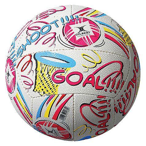 Buy Gilbert GOAL Supporter Netball Online at johnlewis.com