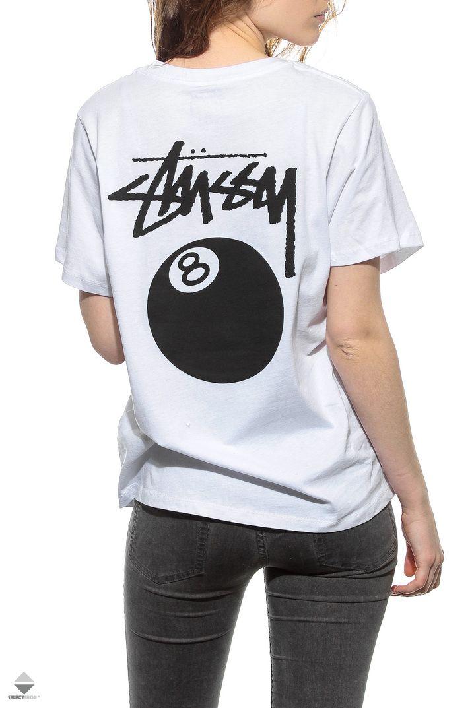 Koszulka Damska Stussy 8 Ball Boyfriend