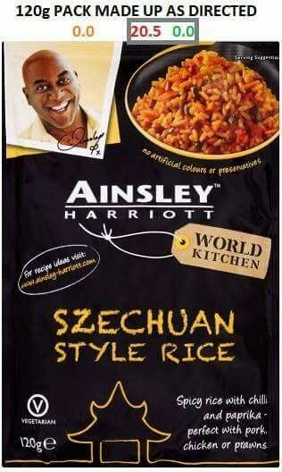 Ainsley harriot selection.....aldi
