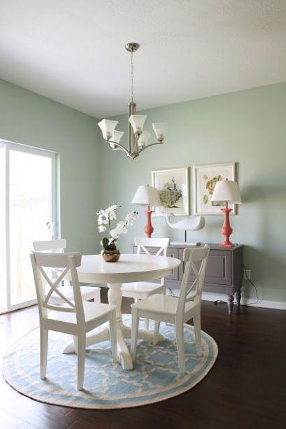 Palladian Blue Walls - Cresthaven Dining & Kitchen - House of Jade Interiors Blog