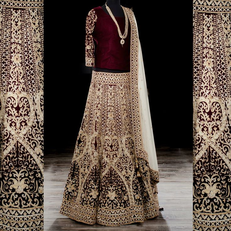 Amazing design, impeccable craftsmanship, and absolute royalty. Words that come to mind when you see this. Lehenga: Wellgroomed Designs Inc Photography: Iconic Pictures