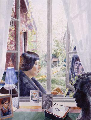 MARJATTA HANHIJOKI Portrait of Leena Krohn (1998)