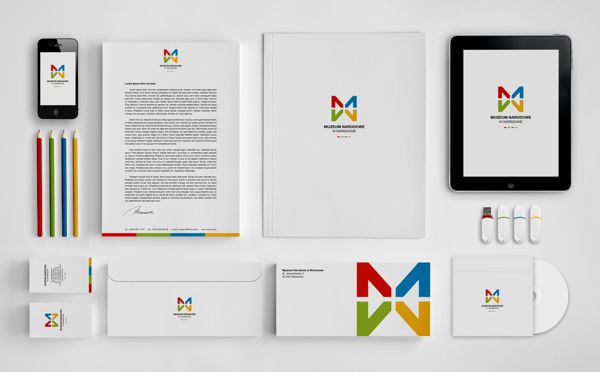 MNW - National Museum in Warsaw by Dawid Cmok, via Behance