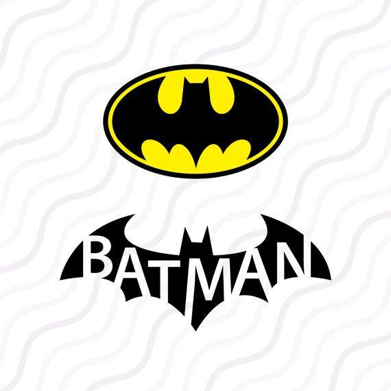 Batman SVG, Batman logo SVG, Superhero logo SVG Cut table Design,svg,dxf,png Use With Silhouette Studio & Cricut_Instant Download