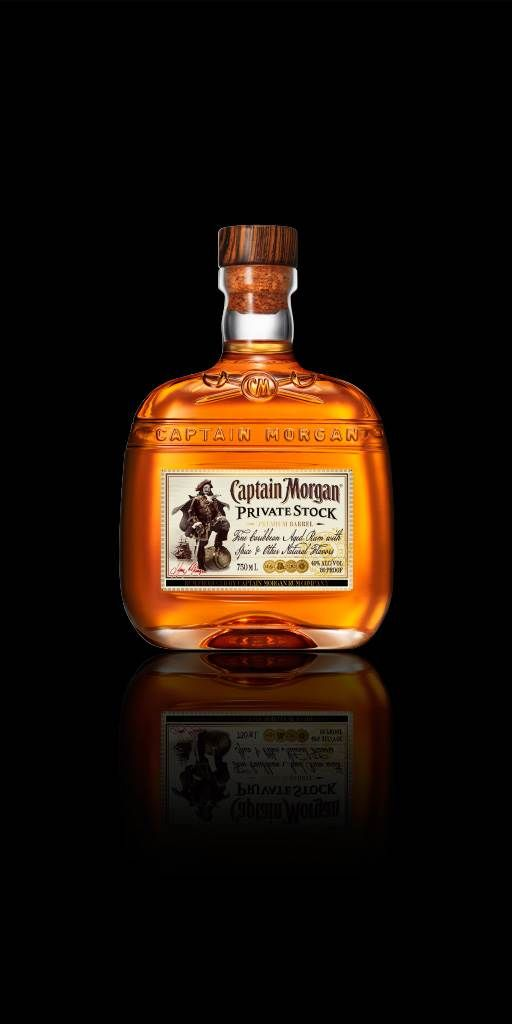 Captain Morgan Private Stock Rum is made from the finest mellow island spice. It's perfect for sipping on the rocks with a twist of lime.