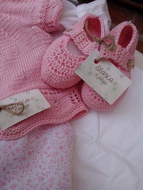 Blancaypunto, botas en rosa