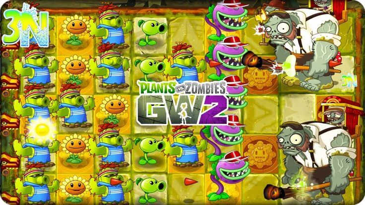 Plants vs. Zombies 2 | ATACANDO con las Plantas de Garden Warfare ! | Cu...
