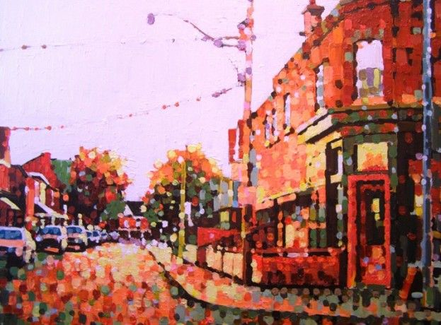 Ossington Evening by Susan Gale, Acrylic on Canvas, Painting | Koyman Galleries