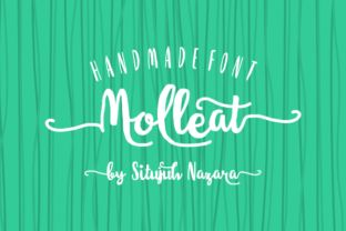 http://Molleat is a stunning font created bySitujuh Nazara.