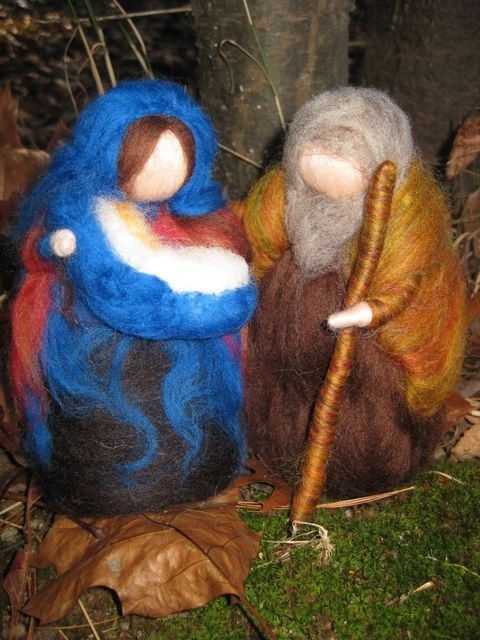 From Woolentales on Etsy - another amazing fibre artist :)