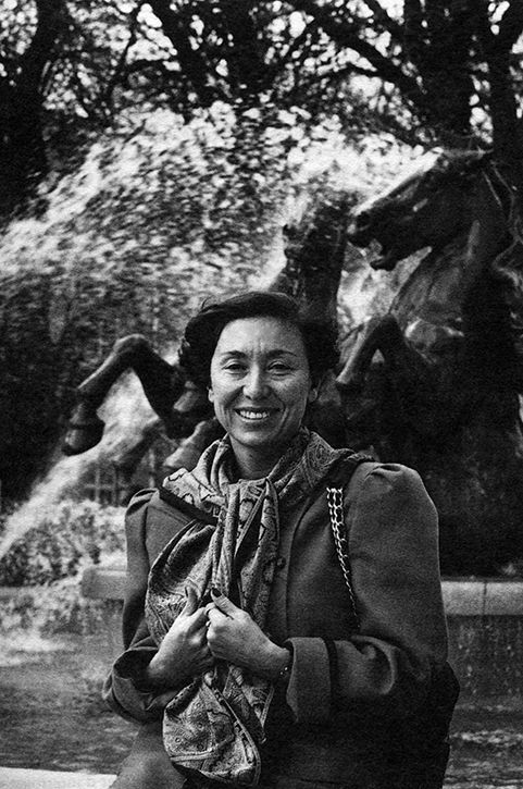 Julia Kristeva, photo Robert Doisneau