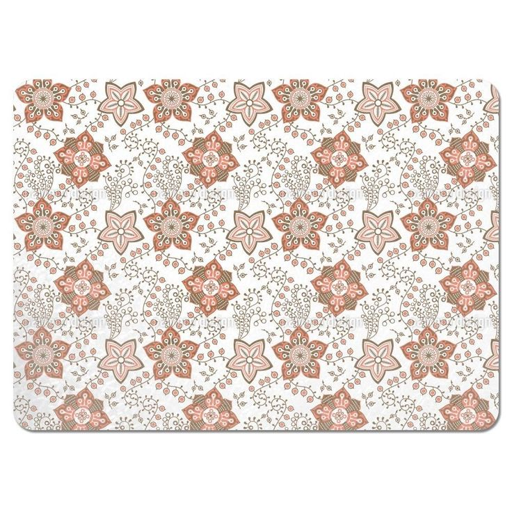 Uneekee Delicate Nature Placemats (Set of 4) (Delicate Nature Placemat), Multi (Polyester)