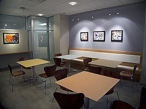 Staff lounge view 1 interior design idea in bronx ny for Interior designers bronx ny