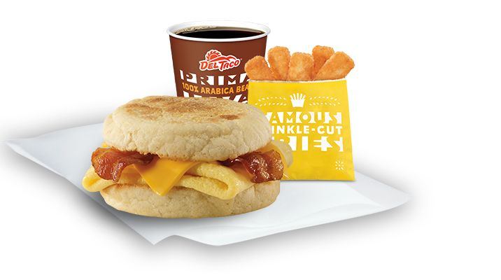 Del Taco: BOGO FREE Egg & Cheese Muffin Coupon!