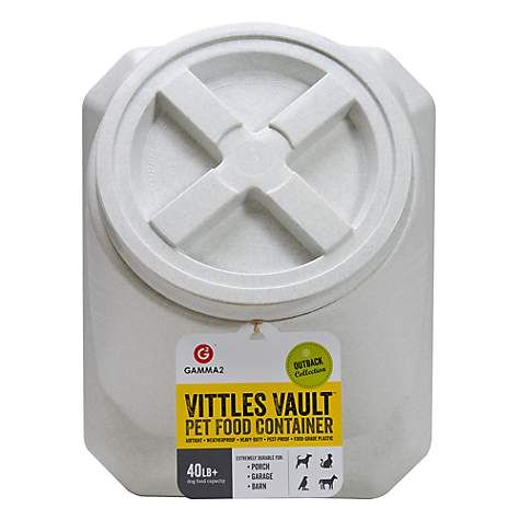 Gamma Vittles Vault Stackable 40 Lbs Pet Food Container Pet
