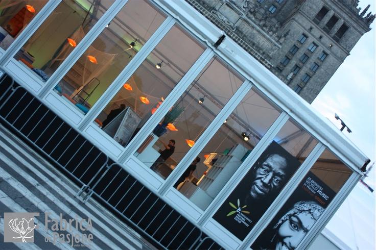 Festiwal Skrzyżowanie Kultur 2012 i Pałac Kultury i Nauki