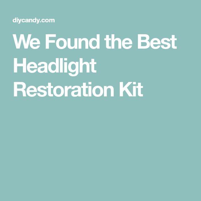 We Found the Best Headlight Restoration Kit