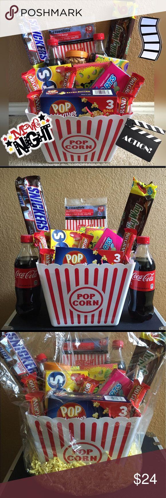 25 unique Popcorn gift baskets ideas on Pinterest Movie