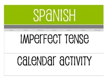 Calendar activities are a great way to help students visualize verbs - activities that happen once, activities that happened over a period of time, and activities that happen repeatedly.  This activity includes options for reading, writing, listening, and speaking and instructions that could turn it into a 10 minute quick activity or a whole hour of engagement.