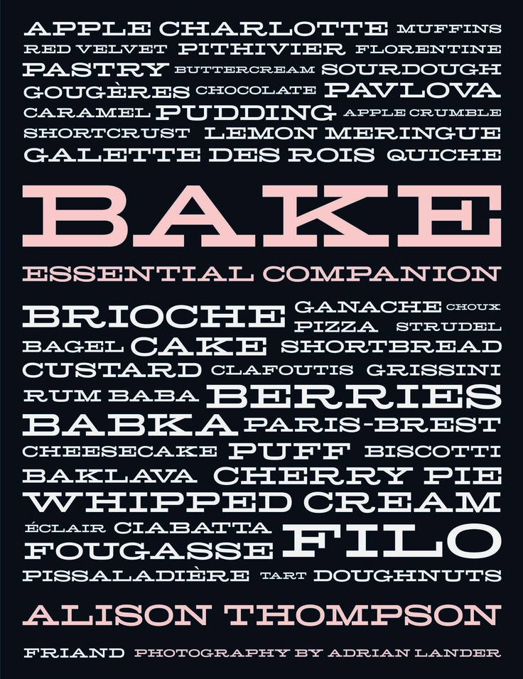 Bake by Alison Thompson