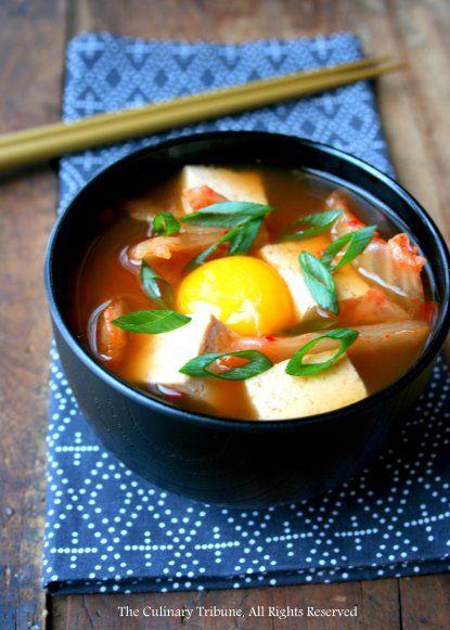 Korean Spicy Tofu Soup