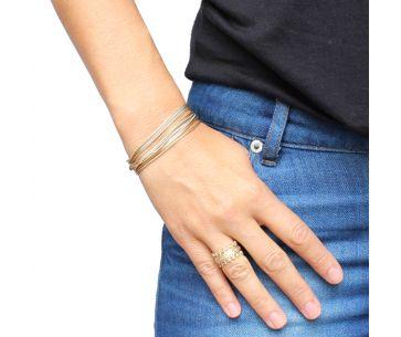 Bracelet Chaines Dorées - Bracelet Coyotte Chaine