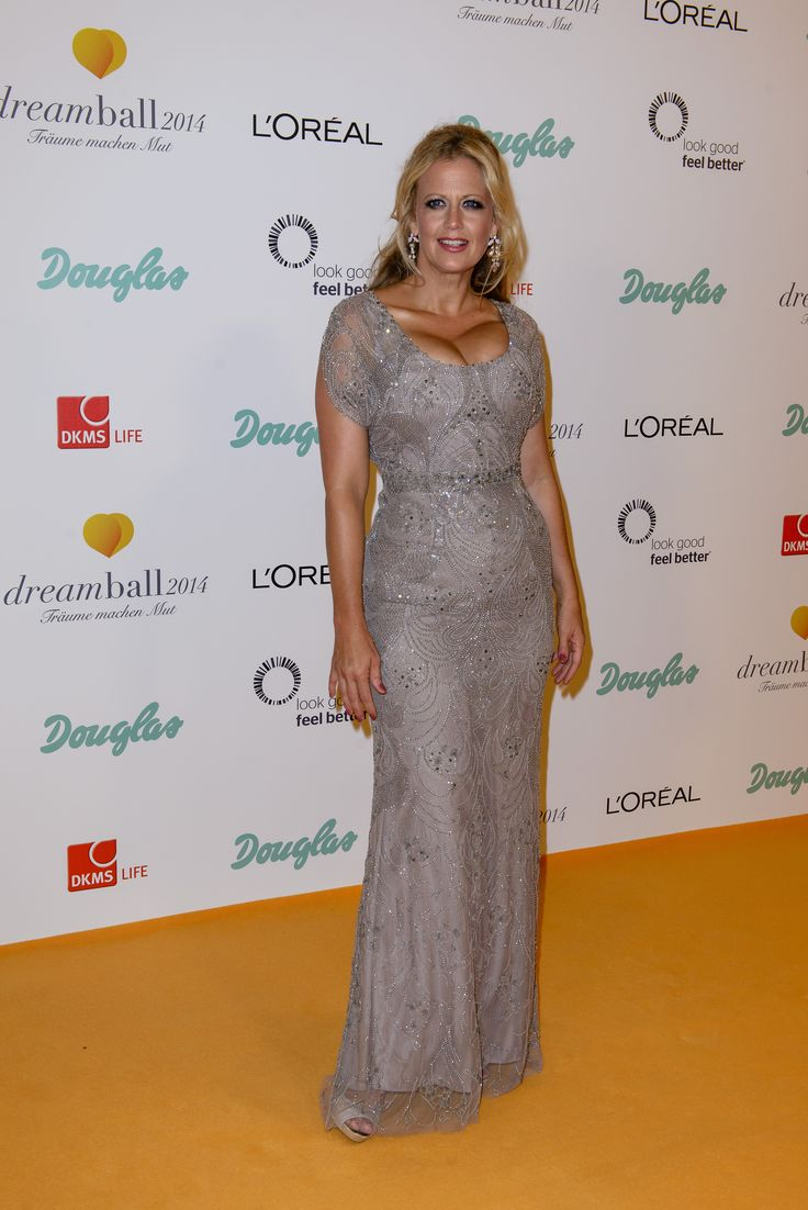Barbara Schöneberger at #dreamball2014 #douglas