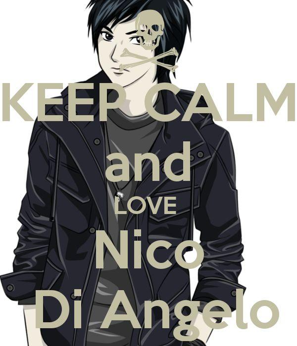 Nico de angelo we all love u!!
