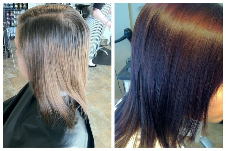Semi Permanent Hair Color Before And After Hair Colors Of