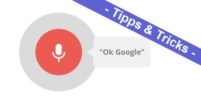 """So einfach aktiviert man die """"Ok Google"""" Sprachsuche und Sprachsteuerung"""