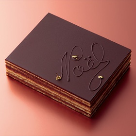 Henri Charpentier Christmas cake アンリ・シャルパンティエ オペラ・ドゥ・ノエル