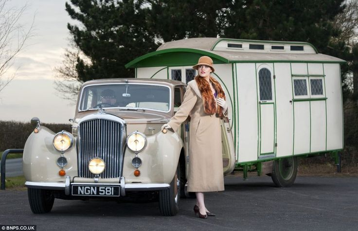 'A drawing room on wheels': The 1920s caravan the Downton set used to explore the countryside