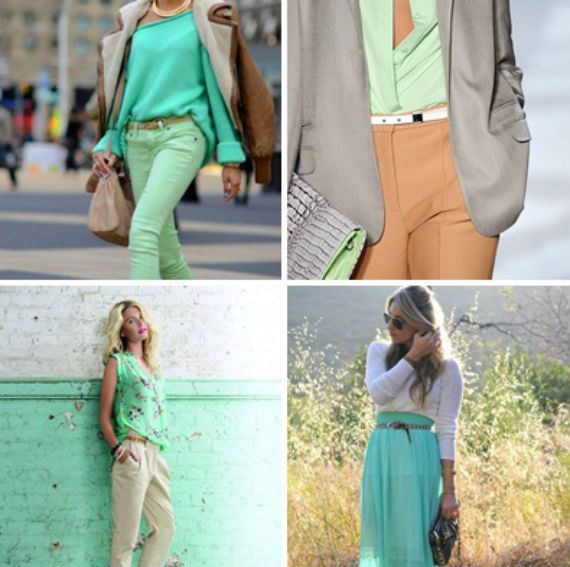 Try the pastel trend for spring.