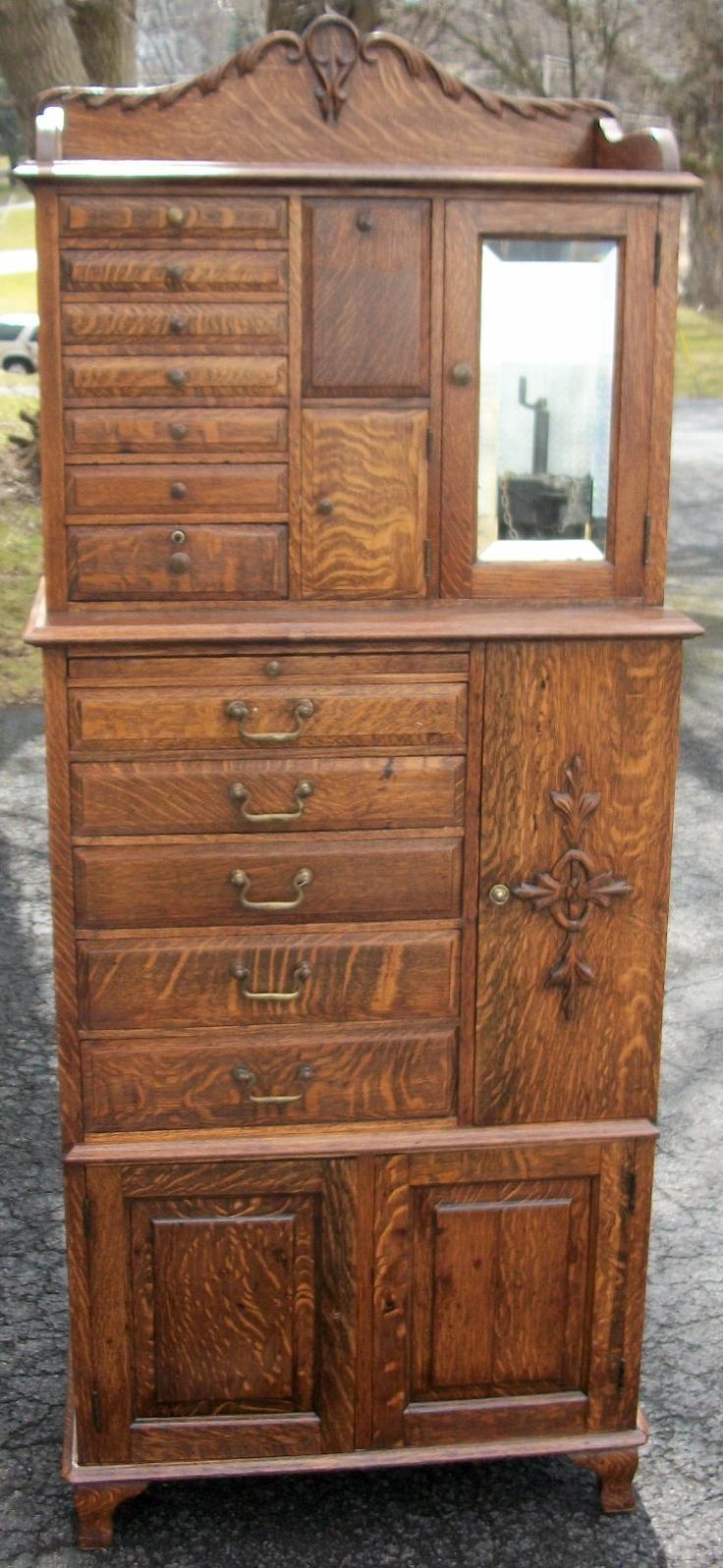 36 Best Tiger Oak Images On Pinterest Antique Furniture