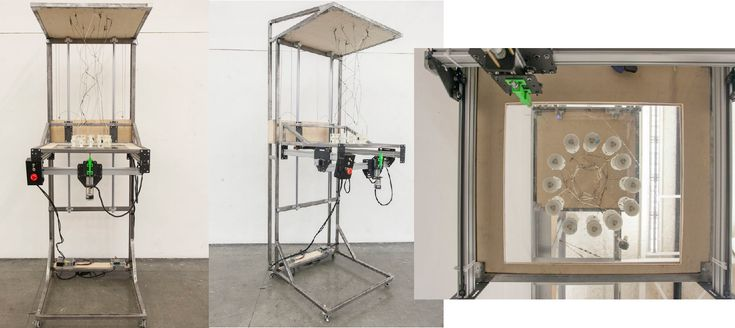 'Space Weaver' — 3D Weaving Machine Invented by California College of Art Students http://3dprint.com/31284/space-weaver-3d-machine/