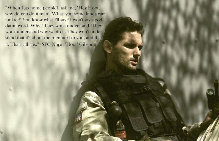 -Black Hawk Down (Well said)