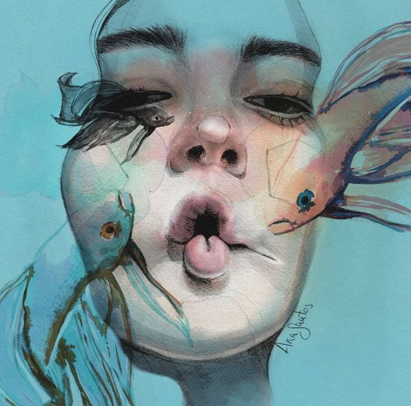 Lovely works by Ana Santos  Instagram.com/anasantos_illustration Very-art.net