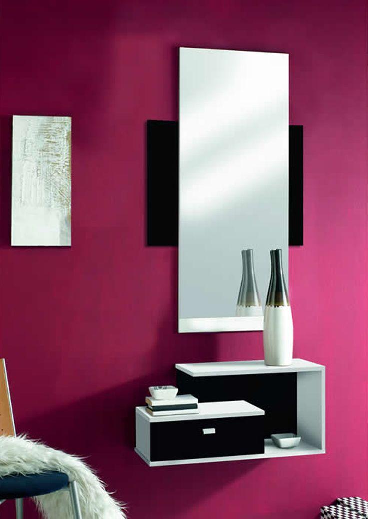 17 mejores ideas sobre espejos recibidor en pinterest for Espejos decorativos bano