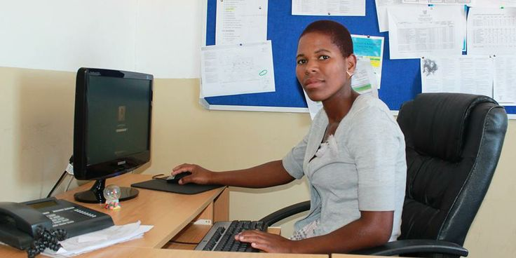 New Venture Creation placement creates platform for job experience.  West Coast College is currently offering the New Venture Creation course for unemployed individuals. On the photo is Ms Andiswa Duda, who is currently doing her practical at Swartland Municipality. Image supplied by WCC.